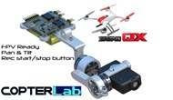 2 Axis Mobius Micro Camera Stabilizer for Blade 350QX