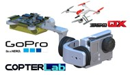 2 Axis GoPro Hero Camera Stabilizer for Blade 350QX