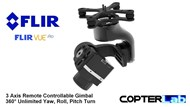 3 Axis Flir Vue Micro Camera Stabilizer