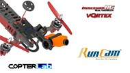 2 Axis Runcam 2 Nano Camera Stabilizer for Vortex 285 Jocelyn Version