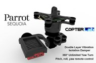3 Axis Parrot Sequoia+ Micro NDVI Camera Stabilizer