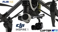 2 Axis Flir Vue Micro Camera Stabilizer for DJI Inspire 1