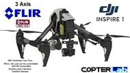 3 Axis Flir Tau 2 Micro Camera Stabilizer for DJI Inspire 1