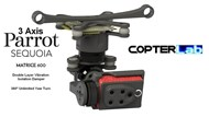 3 Axis Parrot Sequoia+ Micro NDVI Camera Stabilizer for DJI Matrice 600 M600 pro
