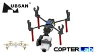 2 Axis Runcam 1 Nano Camera Stabilizer for Hubsan FPV X4 H501S