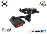 2 Axis Parrot Sequoia+ Micro NDVI Camera Stabilizer for 3DR Solo