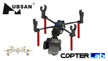 2 Axis Mobius Nano Camera Stabilizer for Hubsan FPV X4 H501A
