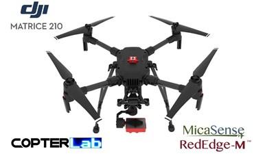 2 Axis Micasense RedEdge M NDVI Skyport Camera Stabilizer for DJI Matrice 210 M210