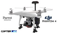 2 Axis Parrot Sequoia+ Micro NDVI Camera Stabilizer for DJI Phantom 4 Advanced