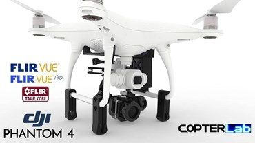 2 Axis Flir Tau 2 Micro Camera Stabilizer for DJI Phantom 4 Advanced