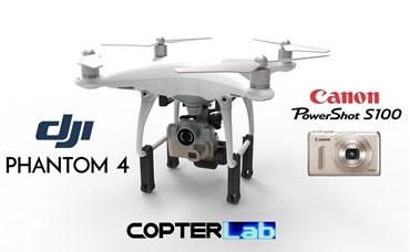 2 Axis Canon Powershot S100 Camera Stabilizer for DJI Phantom 4 Advanced