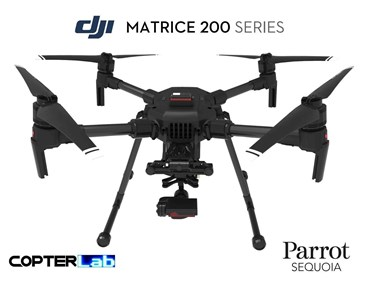 2 Axis Parrot Sequoia+ Micro NDVI Skyport Camera Stabilizer for DJI Matrice 200 M200