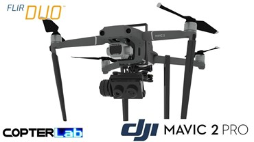 2 Axis Flir Duo R Nano Camera Stabilizer for DJI Mavic 2 Pro