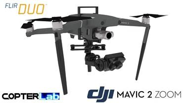 2 Axis Flir Duo R Nano Camera Stabilizer for DJI Mavic 2 Zoom