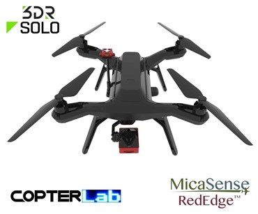 2 Axis Micasense RedEdge M Micro NDVI Camera Stabilizer for 3DR Solo