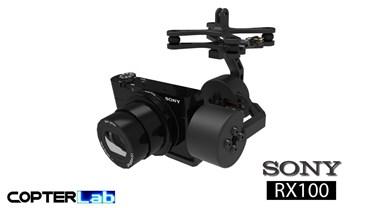 2 Axis Sony RX 100 RX100 Camera Stabilizer