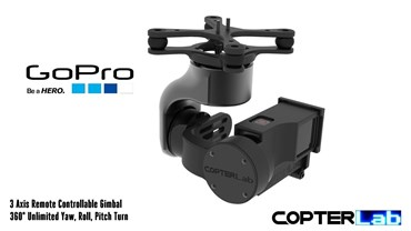 3 Axis GoPro Hero 3 Micro Camera Stabilizer
