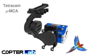 2 Axis Tetracam Micro MCA NDVI Camera Stabilizer