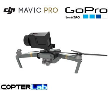 2 Axis GoPro Hero 4 Nano Camera Stabilizer for DJI Mavic Pro