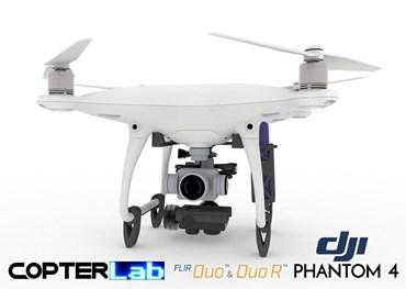 2 Axis Flir Duo R Micro Camera Stabilizer for DJI Phantom 4 Pro v2