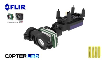 2 Axis Flir Chameleon 3 Nano Camera Stabilizer