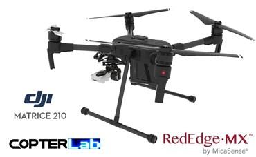 2 Axis Micasense RedEdge MX NDVI Skyport Camera Stabilizer for DJI Matrice 210 M210