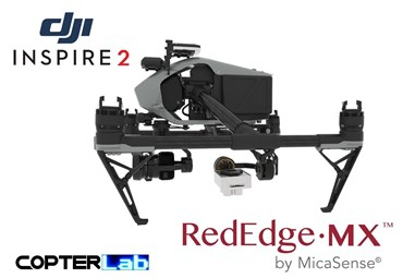2 Axis Micasense RedEdge MX Micro NDVI Camera Stabilizer for DJI Inspire 2