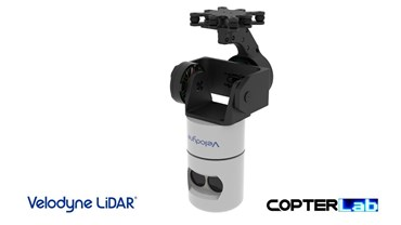 2 Axis Velodyne Lidar HDL-32E Camera Stabilizer