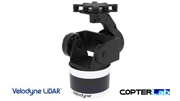 2 Axis Velodyne Puck Lidar Camera Stabilizer