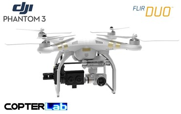 1 Single Pitch Axis Flir Duo R Micro Camera Stabilizer for DJI Phantom 3 Standard