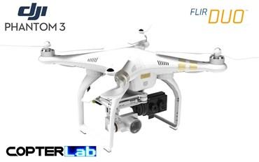 2 Axis Flir Duo R Micro Camera Stabilizer for DJI Phantom 3 Advanced