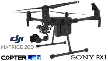 2 Axis Sony RX1 Micro Skyport Camera Stabilizer for DJI Matrice 200 M200