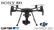 3 Axis Sony RX 1 RX1 Micro Skyport Camera Stabilizer for DJI Matrice 200 M200