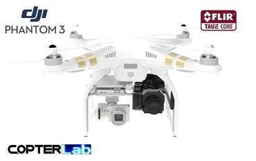2 Axis Flir Tau 2 Micro Camera Stabilizer for DJI Phantom 3 Professional