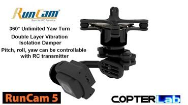 3 Axis Runcam 5 Micro Camera Stabilizer