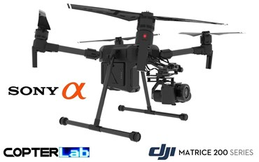 2 Axis Sony Alpha 6600 A6600 Micro Skyport Camera Stabilizer for DJI Matrice 200 M200