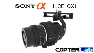 2 Axis Sony QX1 Camera Stabilizer