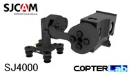 2 Axis SJCam SJ4000 SJ 4000 Top Mounted Micro FPV Camera Stabilizer