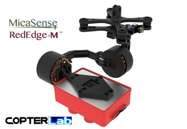 2 Axis Micasense RedEdge RE3 Micro NDVI Camera Stabilizer
