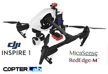 2 Axis Micasense RedEdge RE3 Micro NDVI Camera Stabilizer for DJI Inspire 1