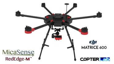 2 Axis Micasense RedEdge RE3 Micro NDVI Camera Stabilizer for DJI Matrice 600 M600 pro