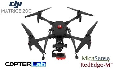 2 Axis Micasense RedEdge RE3 Micro NDVI Skyport Camera Stabilizer for DJI Matrice 200 M200