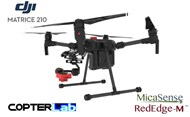 2 Axis Micasense RedEdge RE3 NDVI Skyport Camera Stabilizer for DJI Matrice 210 M210