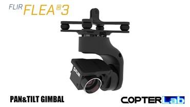2 Axis Flir Flea3 Pan Tilt Brushless Camera Stabilizer