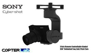 3 Axis Sony HX 50 HX50 Camera Stabilizer