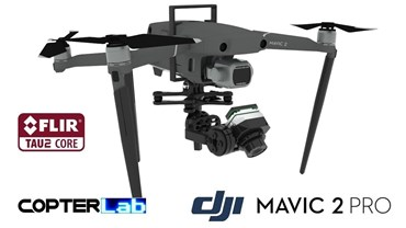 2 Axis Flir Tau 2 Nano Camera Stabilizer for DJI Mavic Air 2