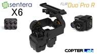 2 Axis Sentera 6X + Flir Duo Pro R Dual NDVI Camera Stabilizer