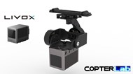 2 Axis Livox Horizon Lidar Camera Stabilizer