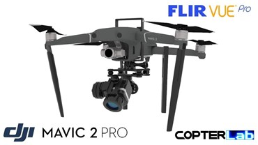 2 Axis Flir Vue Nano Camera Stabilizer for DJI Mavic 2 Zoom