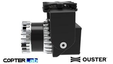 1 Axis Ouster OS0 Lidar Camera Stabilizer